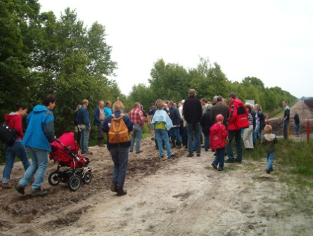Start der Exkursion ins Dustmeer