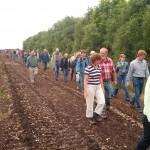 Fast 50 Interessierte fanden den Weg ins Moor